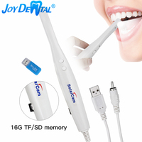 Endoscopio Digital Oral para TV/AV, tarjeta de memoria y lector de tarjetas, formato PAL con 8 luces LED, 16GB