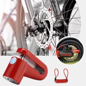 Противоугонные колеса дисковые тормоза замок для скутера для Xiaomi Mijia M365 электрический скутер аксессуары велосипедный замок безопасности со стальной проволокой