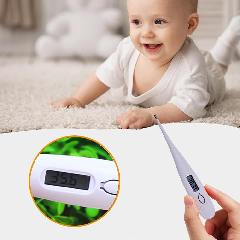 Baby Body Portable Digital LCD Thermometer Temperature Measurement USSP Accuracy Measure Child Adult Kids Termometro