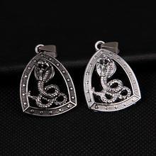 Оригинальные открытые кобры ожерелье в байкерском стиле Вечерние