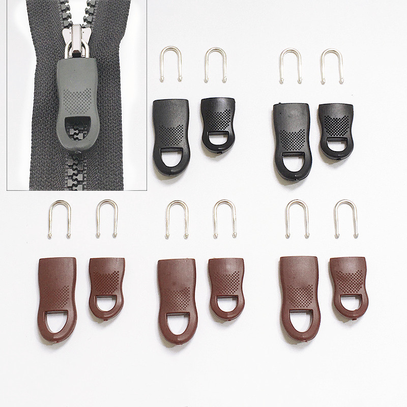 2 pcs-Zipper-Pull-Cord-Nylon-Black USA SELLER FAST SHIPPING!
