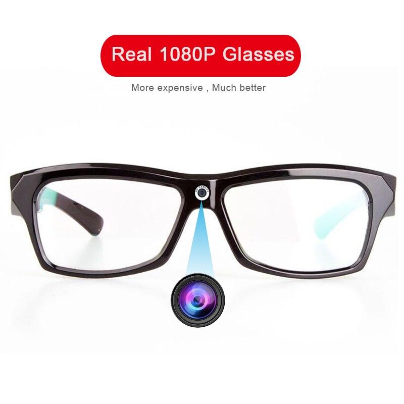 Real 1080p HD Camera Glasses Photo Video Recorder Mini DV Wearable Camcorder Cam EyeGlasses