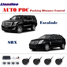 For Cadillac Escalade/SRX Car PDC Parking Distance Control Parking Sensors System Reverse Camera HD Display free shipping dld 500 good quality traffic inductive loop vehicle detector signal control ground sensors for parking system