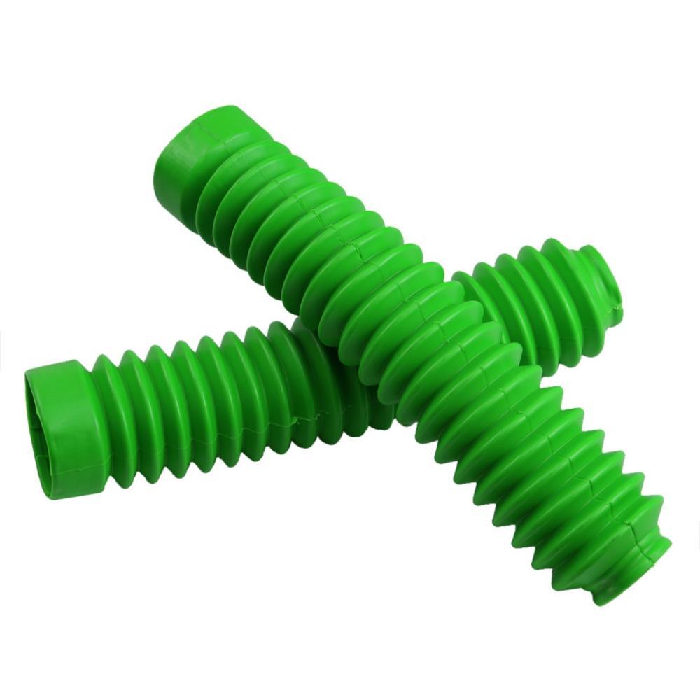 TDPRO универсальная мотоциклетная резиновая защита передняя вилка гетры пылезащитный чехол для обуви мотоциклетный амортизатор гетры - Цвет: green