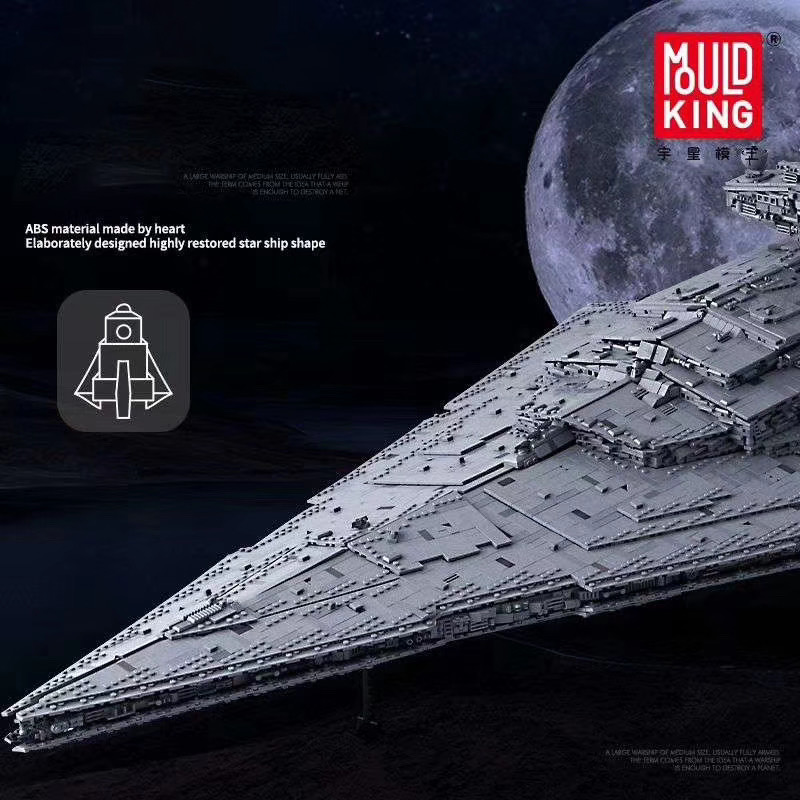 05027 Star Toys Wars The MOC-23556 Imperial Star Destroyer Compatible With 75252 Kids Christmas Gifts Building Blocks 1