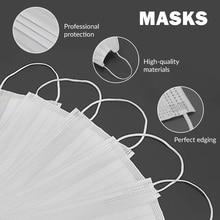 30-200pcs Disposable Mouth Face Mask Virus Surgical Mask 3ply Prevent Bacteria Mask Protect Masks Pollustion Children Face Masks