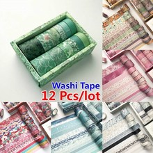 Vintage DIY ScrapbookingSticker For Diary For Scrapbooking Cute Decorative Delicate Washi Tape Stationery Tape