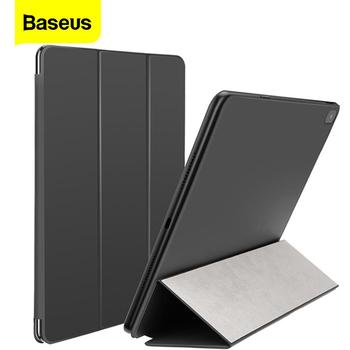 Baseus Luxury Case for iPad Pro 12.9/11 2020 Coque Back Stand with Auto Sleep/Wake Up PU Leather Smart Cover for iPad Pro Fundas