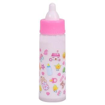 high quality Tableware Doll Accessories For Dolls Girls Baby Dolls Feeding Bottle Milk Bottle Set Kids Play Pretend Toys raw milk quality