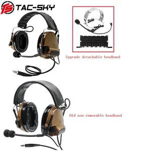Image 5 - COMTAC III orejeras de silicona TAC SKY COMTAC comtaciii, para deportes al aire libre, reducción de ruido, pastilla, auriculares militares para tiro, C3CB