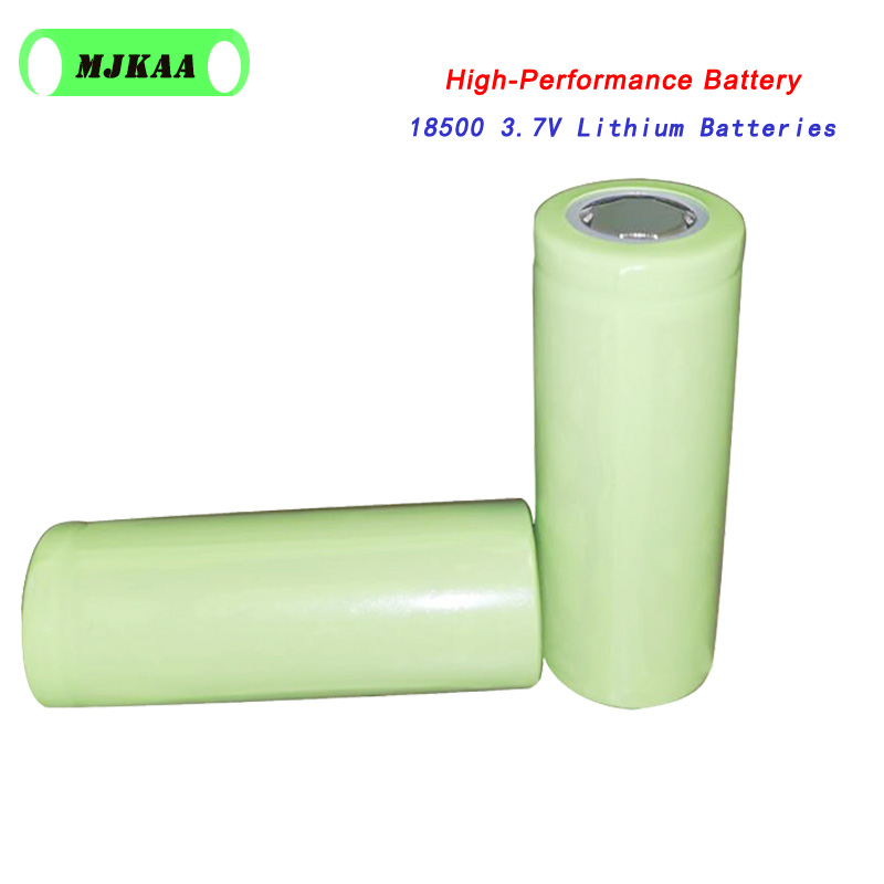 2PCS/Lot 18500 18490 3.7V Rechargeable Battery Real 1400mAh Li-ion Rechargeable FlashLight Torch Battery Use Medical Equipment image