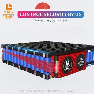 Image 3 - Daly bms batería LiFepo4 de litio de 3,2 V, 4s, 80A, 120A, 200A, 300A, 500A, 18650 BMS, con Balance para Módulo de batería lili ion Lipo