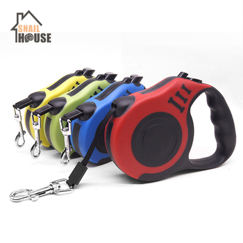 Snailhouse Durable Dog Leashes Automatic Retractable Nylon Extending Puppy Walking Leads Dog Walking Running Leads Pet Supplies walking the dog