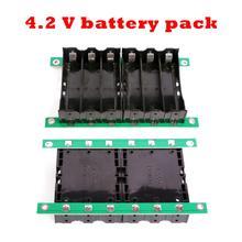 цена 1S Battery Box BMS SPower Wall 4.2V Li-ion Lithium 18650 Battery Pack BMS PCB board 18650 Battery Box Charge-free Welding в интернет-магазинах