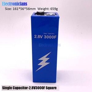 Image 2 - 2.8V 3000F スーパーファラドのコンデンサは低 Esr の高周波数スーパーコンデンサため 2.8V3000F 車 161*56*56 ミリメートル保護ボード