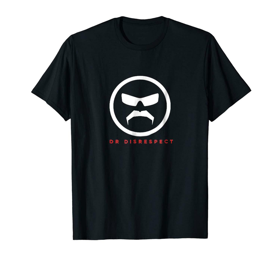 El dr. respeto negro camiseta S-3Xl de calidad superior Tee Shirt