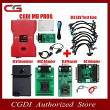 Mb do prog de cgdi para o apoio do benz toda a chave perdida mais rápido adiciona a chave com adaptador de elv & simulador & adaptador de ca & eis elv original cgdi para benz