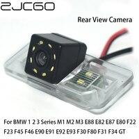 Carro Rear View Camera Reversa Back Up para BMW ZJCGO 1 2 3 Series M1 M2 M3 E88 E82 E87 E80 F22 F23 F45 F46 E90 E91 E92 E93 F30 F31