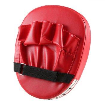Red and Black Flexible Hand Fist Target Pads Sanda Taekwondo Training Foot Muay Thai MMA Boxing Hand Target Karate Kung fu Pad jduanl 1piece 350g arc mma muay thai boxing pads strike focus mitts target sanda karate punch training equipment 2018 dco