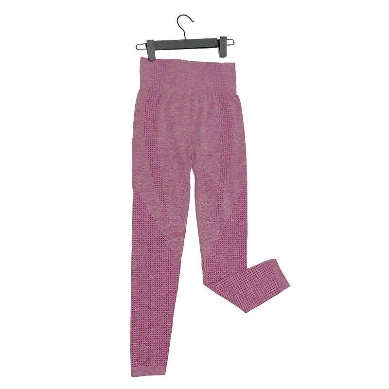 Kaminsky 14 Colors High Waist Seamless Leggings For Women Solid Push Up Leggins Athletic Sweat Pants Sportswear Fitness Leggings 11