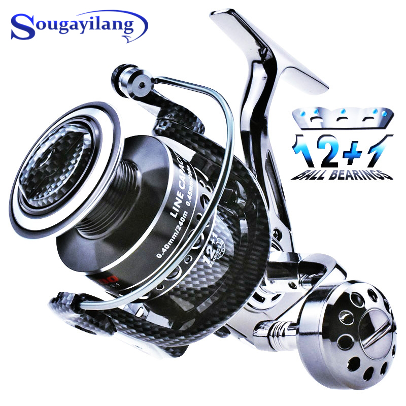 Катушка для спиннинга sougyialng 2000 7000 12 + 1 шарикоподшипник