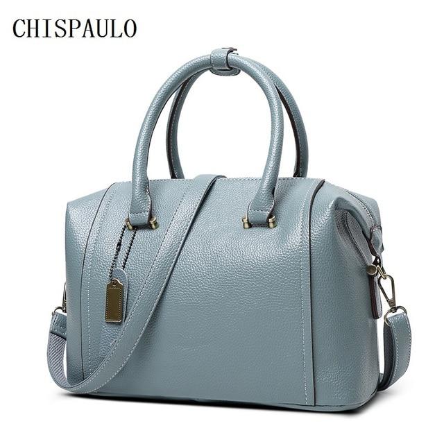 CHISPAULO femmes sac sacs à main pour femmes célèbre marque sacs à main et sacs à main Vintage femmes sacs à bandoulière bandoulière gland X38