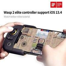 Flydigi Wasp 2 Bluetooth Gamepad Android Pubg mobil yarım el telefon altlığı Tablet denetleyici COD mobil IOS / Android telefon