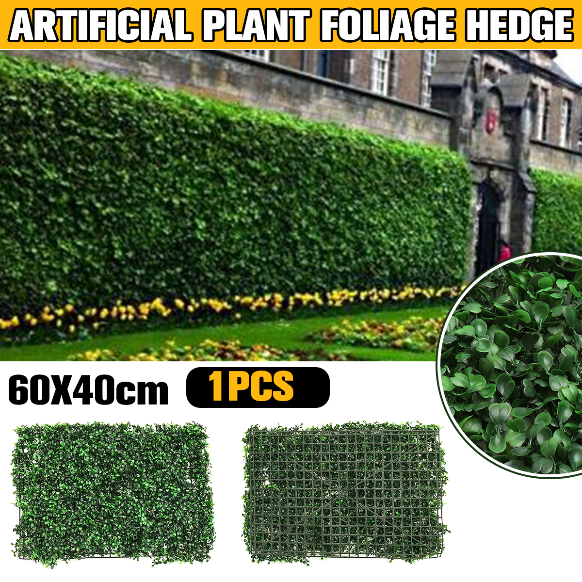Artificial Grass Plant Wall Garden Landscape Home Decorations Artificial Lawn Turf Simulation Plants Landscaping Green