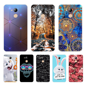 Soft For Huawei Honor 6C Pro Case Cover TPU Soft Silicone Back Cover Phone Case For Huawei Honor 6C Pro 6CPro JMM-L22 Fudas Bag image