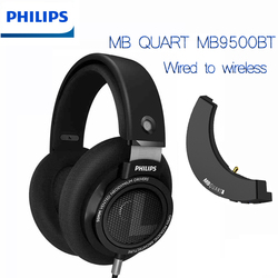 Philips SHP9500 Wired Headphones WIth 3m Cable MBQUART APTX  AAC Germany Goethe Lossless Bluetooth 5.0 Module For Huawei Xiaomi