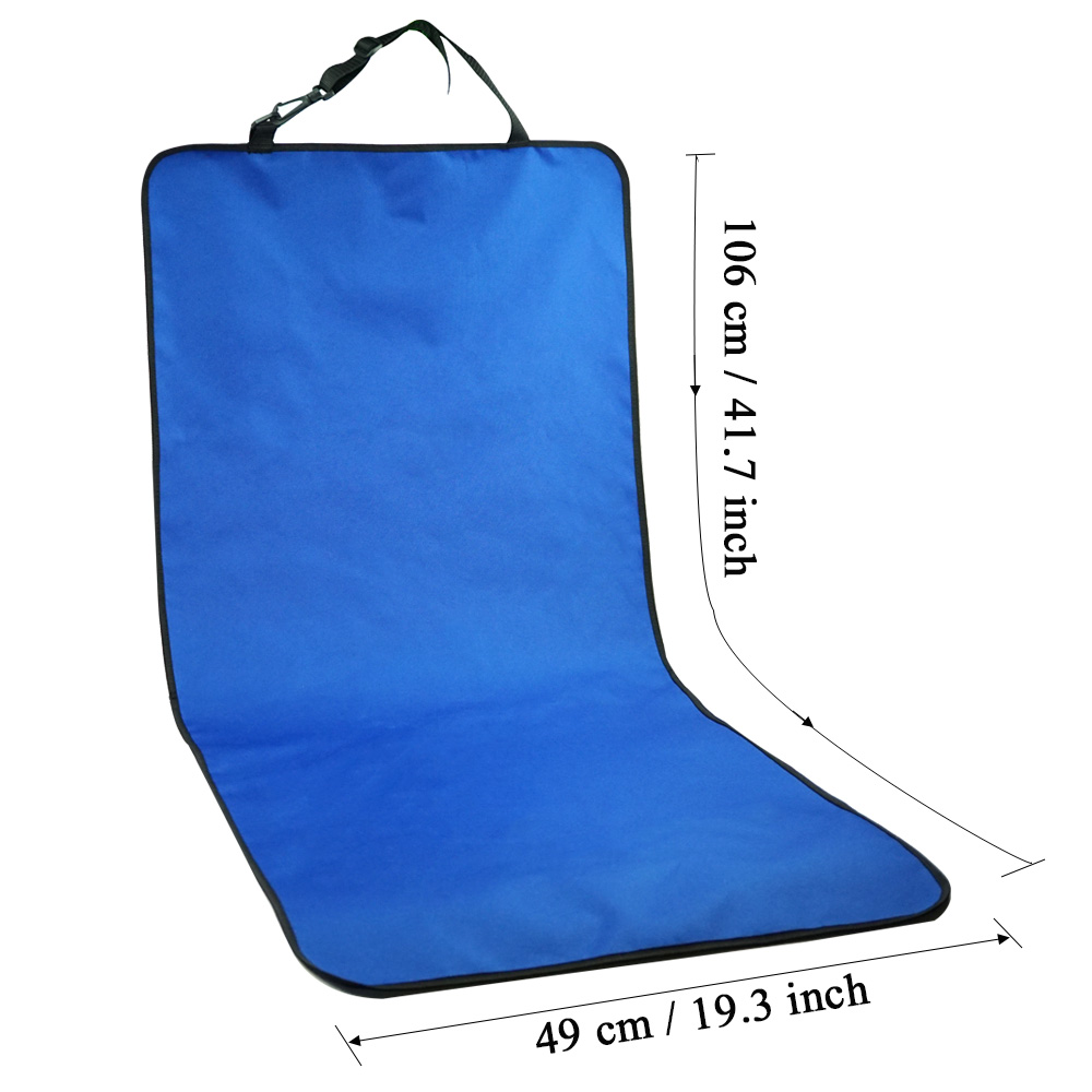 Car Waterproof Back Seat Pet Cover Protector Mat Rear Safety Travel Accessories for Cat Dog Pet Carrier Car Rear Back Seat Mat 3