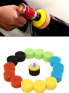 16pcs/Set Polishing-Pad Circle Buffing-Pad-Tool-Kit Car-Polisher 2inch 50mm Auto