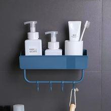 Полка для ванной комнаты органайзер душа настенное крепление