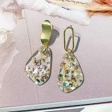 classic luxury round cubic zircon earrings for women bride sparking crystals drop wedding