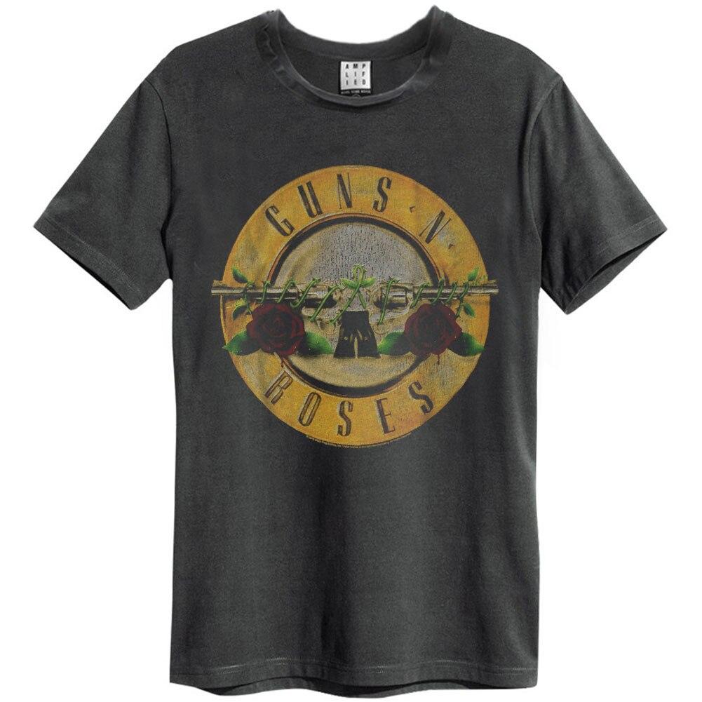Funny Men T Shirt Women Novelty Tshirt Guns N Roses Drum Slim Fit T Shirt Homme High Quality 033266