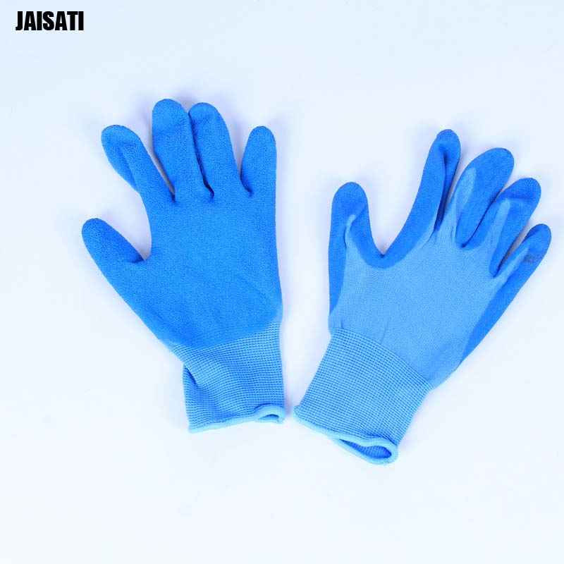 Men's Microfiber Cloth Single Anti-Slip Particles Protective Gloves