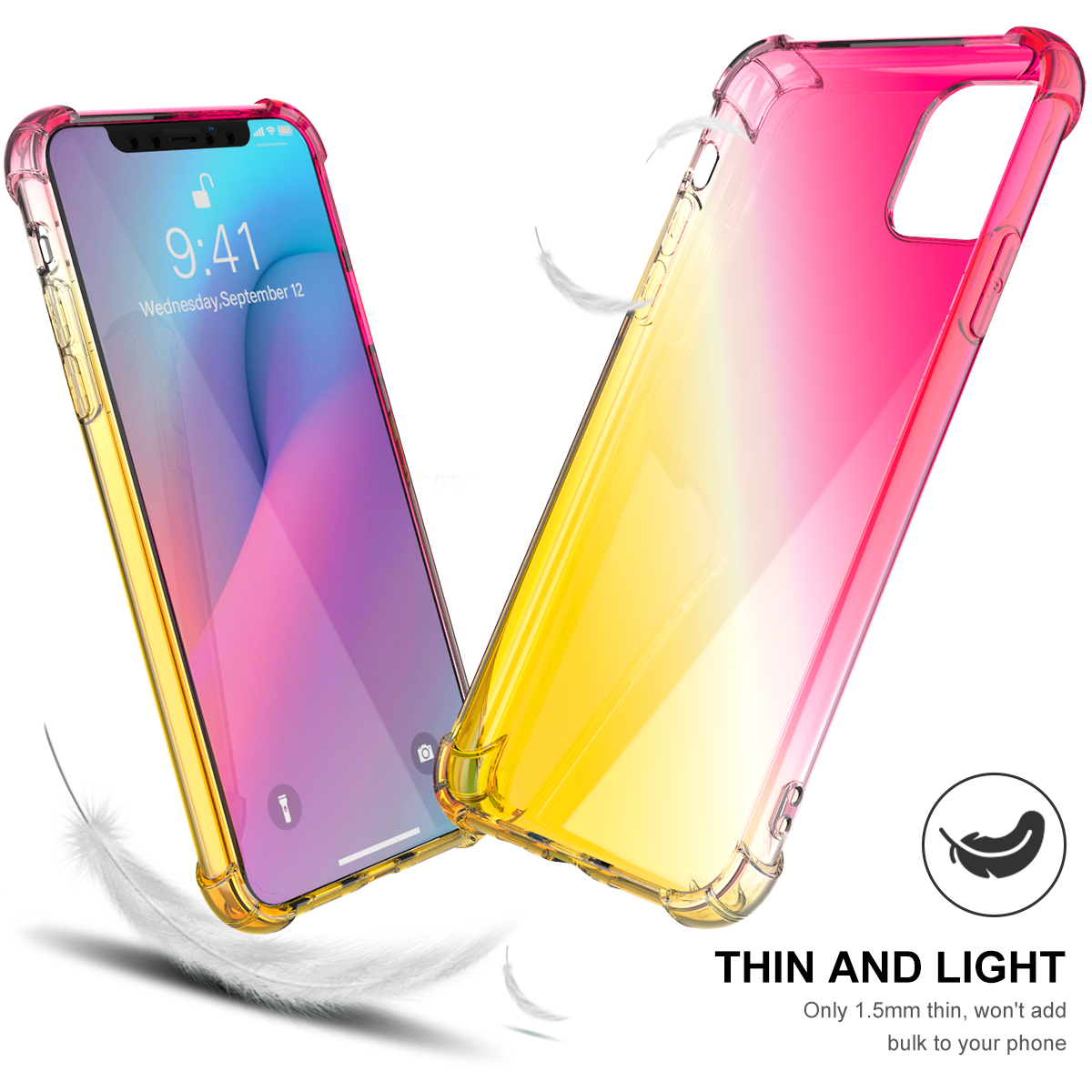 Gradient Soft TPU Case for iPhone 11/11 Pro/11 Pro Max 6