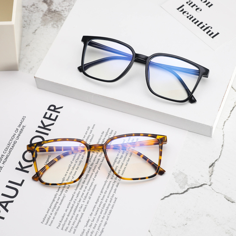 Anti Blue Light Glasses Blocking Filter Reduces Tony Stark Eyewear Strain Clear Gaming Computer Glasses Men Improve Comfort