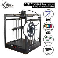 Creativity 3D CoreXY structure Elf 3D printer Kit high precision dual Z axis automatic return support BLTOUCH large area FDM