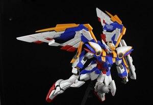 Image 5 - BANDAI MG 1/100 Model Wing Gundam Ver. Ka Kaart Versie Vliegende Vleugel Gemonteerd Tot Action Toy Figures