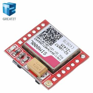 Миниатюрный SIM800L GPRS GSM модуль карта MicroSIM Core Беспроводная плата четырехдиапазонный последовательный порт TTL с антенной для Arduino