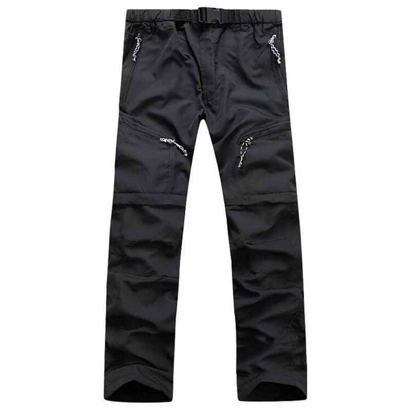 Nice Summer Tide Cargo Pants Men Breathable Tactical Army Military Quick Dry Thin Sweatpants Trousers UV Protection Male Pants