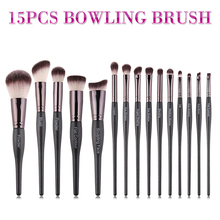 цены на Luxury black Makeup Brushes Set For Foundation Powder Blush Eyeshadow Concealer Lip Eye Make Up Brush Cosmetics Beauty Tools  в интернет-магазинах