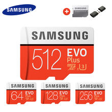 Karta pamięci do samsunga karta Micro SD 256GB 32G 64GB Microsd Micro SD 128GB 512G SDHC SDXC klasa EVO + C10 UHS TF karty SD(China)