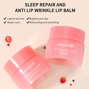 Moisturizing Lip Mask Cherry Extract Lasting Nourishes Removes Dead Skin Fades Lip Lines Sleep Repair Lip Care Lip Mask TSLM2