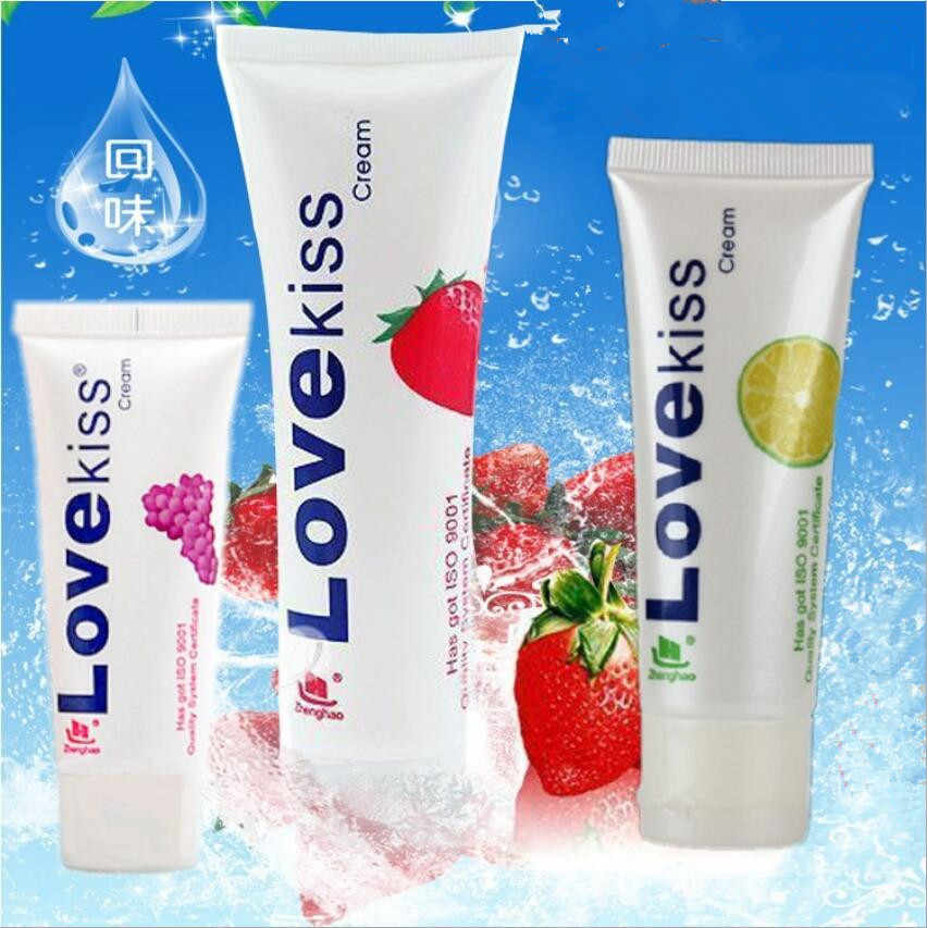 Banana Flavor Intimate Lubricant Grape Edible Fruit Flavour Lubricants Water Soluble Vagina Lubricating Anal Lube Oral Sex Gel