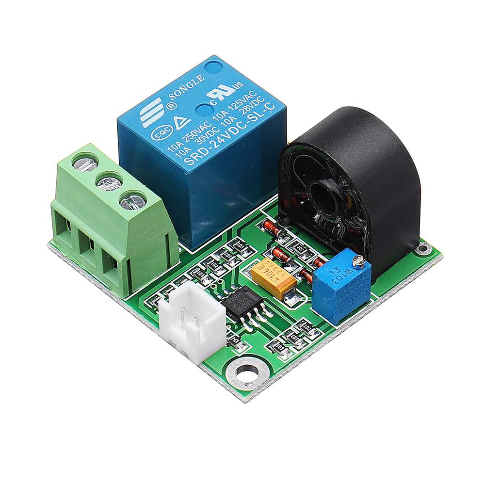 Current Sensor Detection Module 0-5A Overcurrent Protection Board Relay Module Signal Switch Output For Arduino