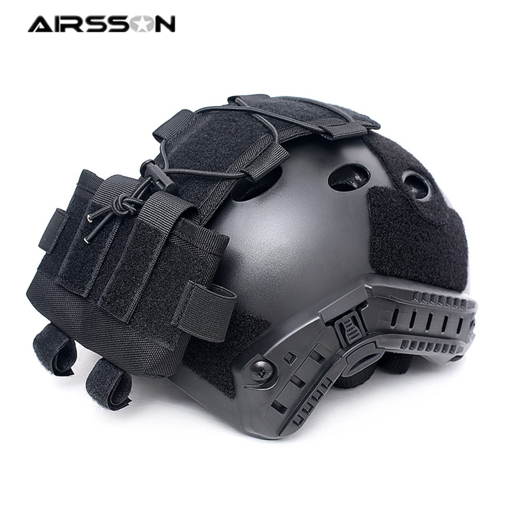 Tactical Pouch MK2 Battery Case For Helmet Airsoft Hunting Camo Battery Pouch Military Combat FAST Helmet Balance Weight Bags