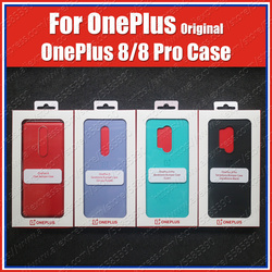 IN2010 официальная коробка Oneplus 8 чехол, бампер из песчаника (100% оригинал) Oneplus 8 Pro Чехол 7T Pro, нейлоновый чехол из песчаника Karbon