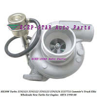 HX30W Turbo For Cummin*s Truck Elite 4BTA 1998-08 Turbine 3592121 3592122 3592123 3592124 3537751 3537753 3802906